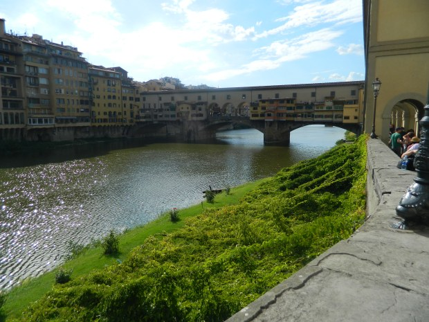 On my way to the Ponte Vecchio!